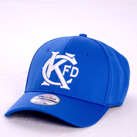 KCFD Blue and White KC Colors Hat