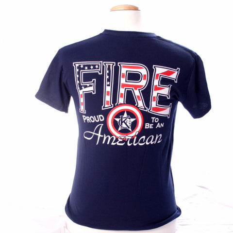 Proud to be an American - Kansas City Fire Department (KCFD ) T-shirt