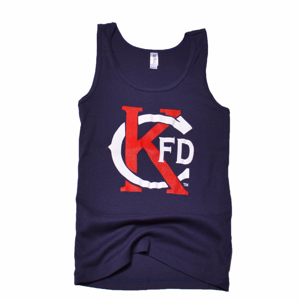 "KCFD - Ladies ""fitted"" Tank"