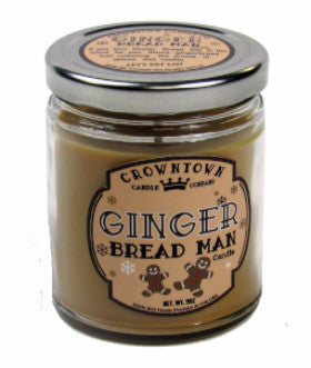 Ginger Bread Man 9oz Candle
