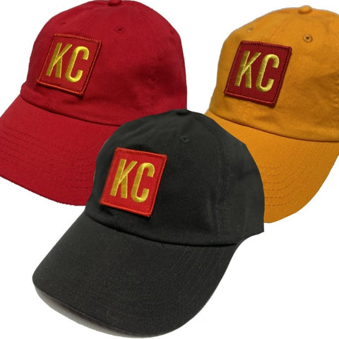 KC PATCH - ADJ RED/GOLD