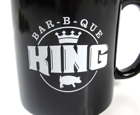 BBQ KING Ceramic Mug 12oz