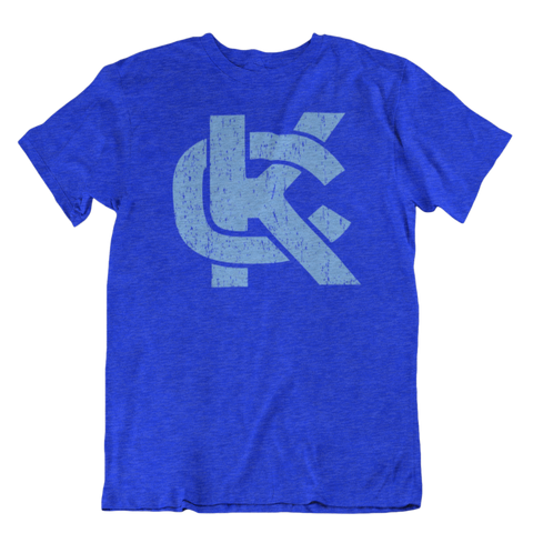 KC LOGO - BLUE/GREY