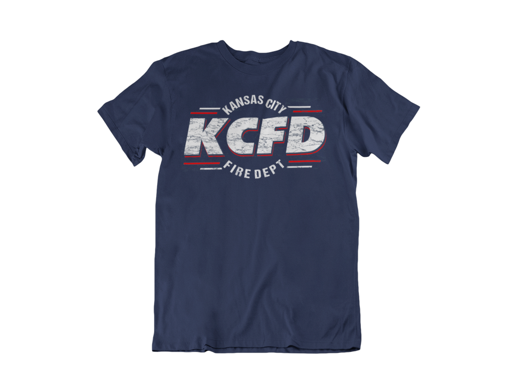 KCFD Distress T-shirt