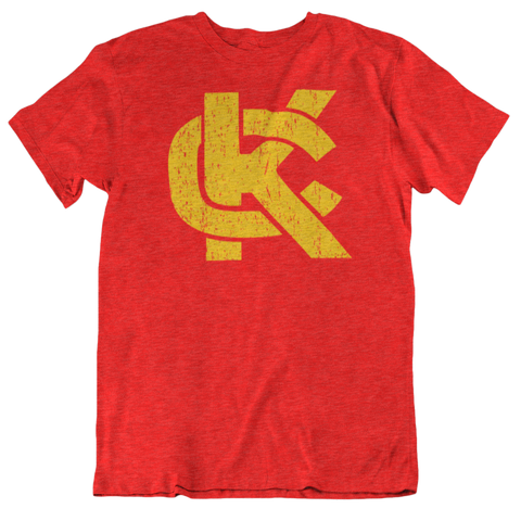 KC LOGO - RED/GOLD