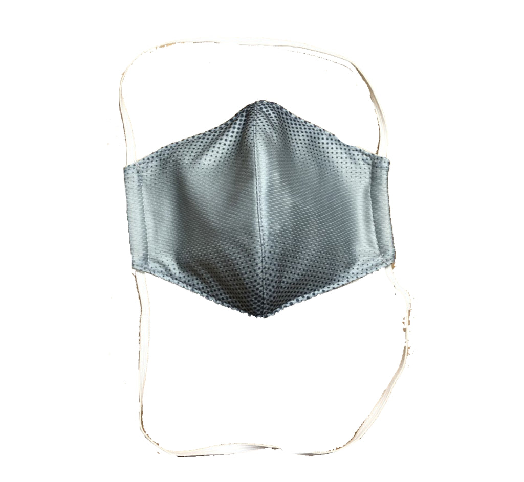 Face Mask -GREY dot fade