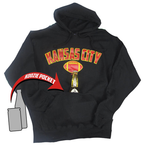Kansas City Bev. Pocket Hoodie Black