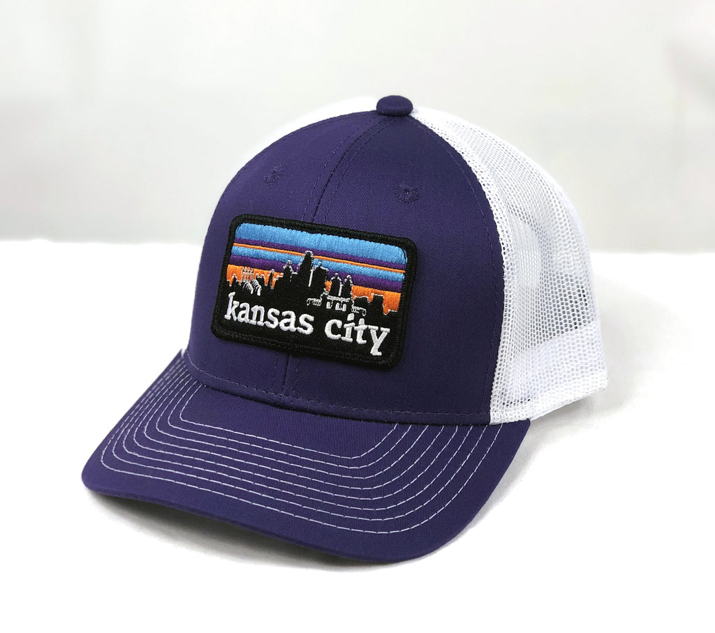 KC SKYLINE trucker hat - PURPLE