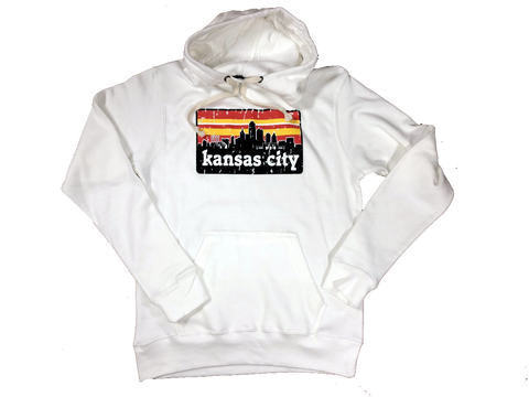 KC Skyline Red&Gold Hoodie