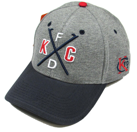 "KCFD ""X"" Hat - Grey/Navy"
