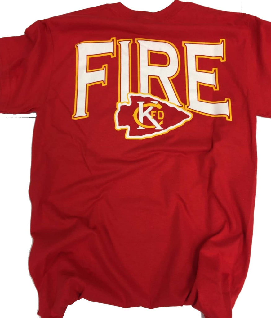 KCFD - RED & GOLD T-SHIRT