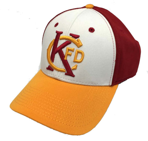 KCFD RED & GOLD Hat