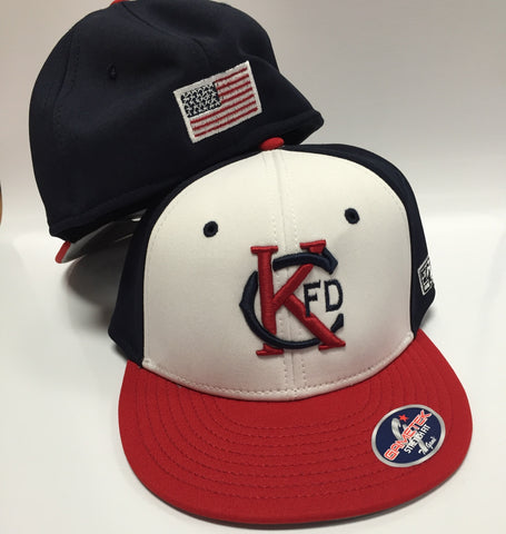 KCFD Tri-Color Hat - Game