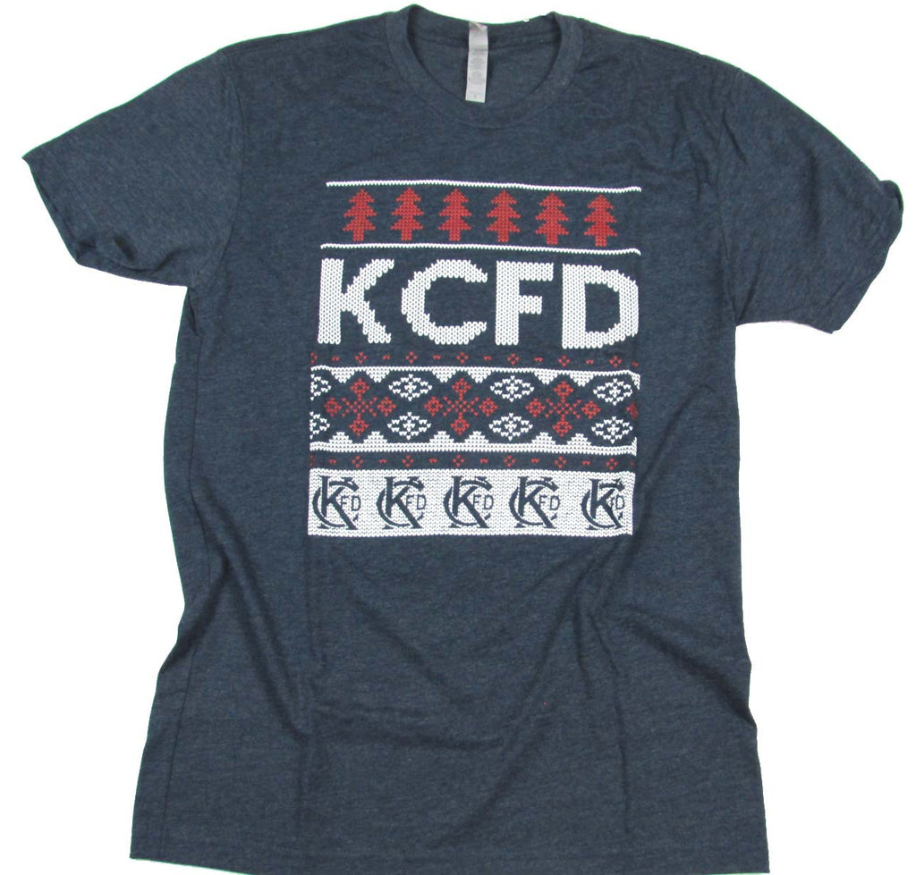 KCFD Ugly Sweater T-shirts