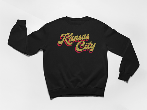 Kansas City Script UNISEX Sweatshirt