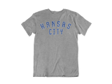BLUE KANSAS CITY TEE