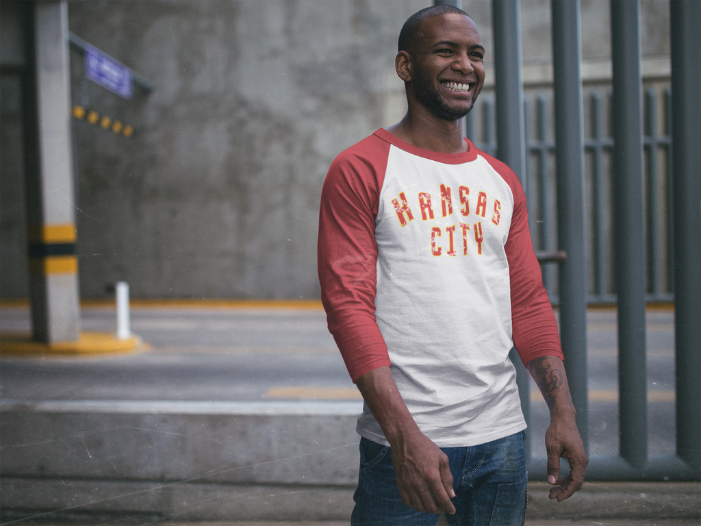*KANSAS CITY 3/4 SLEEVE TEE
