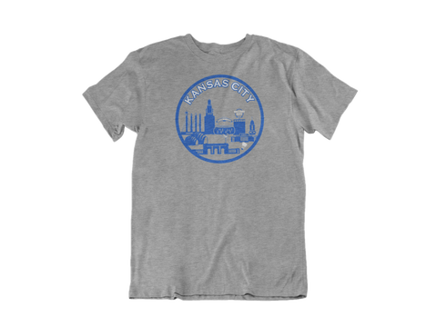 KC Skyline T-shirt - Blue