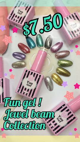 jewel beam! fun gel metallic jewel tone collection