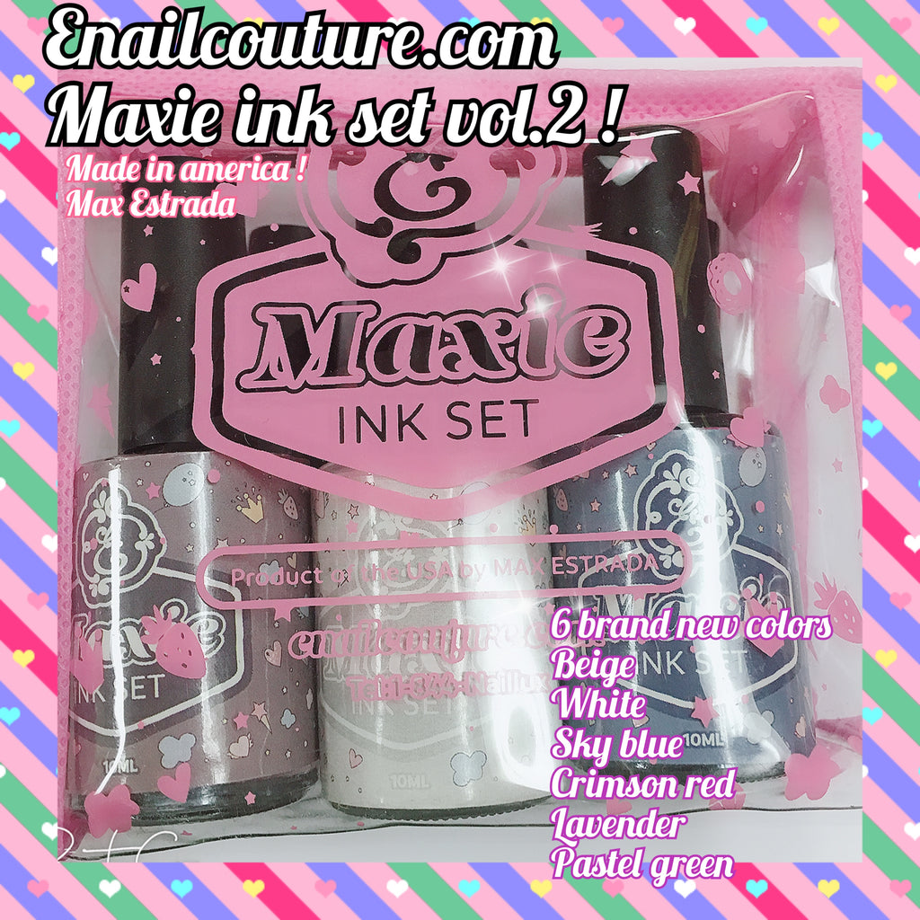 Maxie INK Set, Vol. 2 !