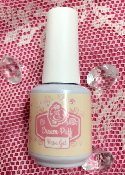 Cream Puff - Pink/nude gel Base Coat ~!