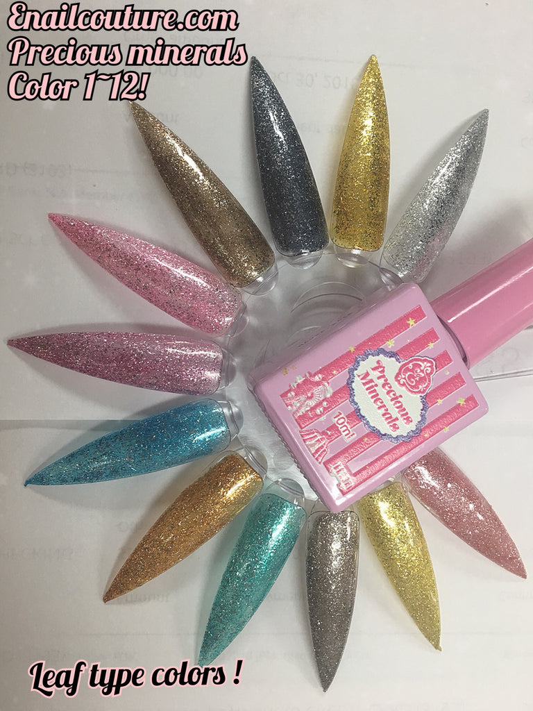 Precious Minerals~! leaf colors 1~12 Gel Polish