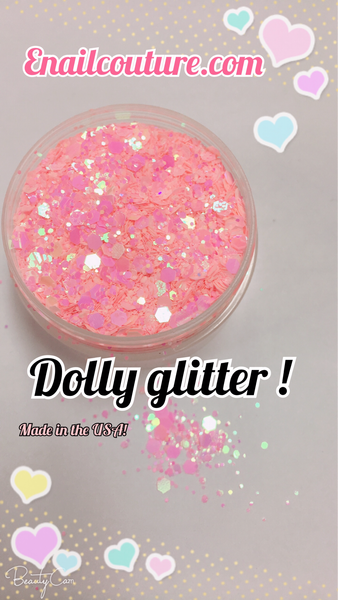 Dolly , pure glitter mix!