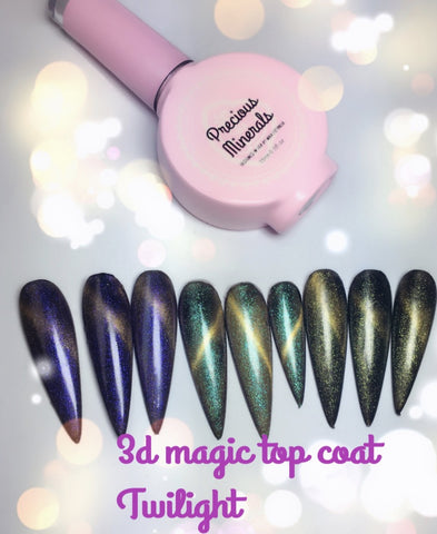 Twilight~! 3D Magic Top Coat, Precious Minerals