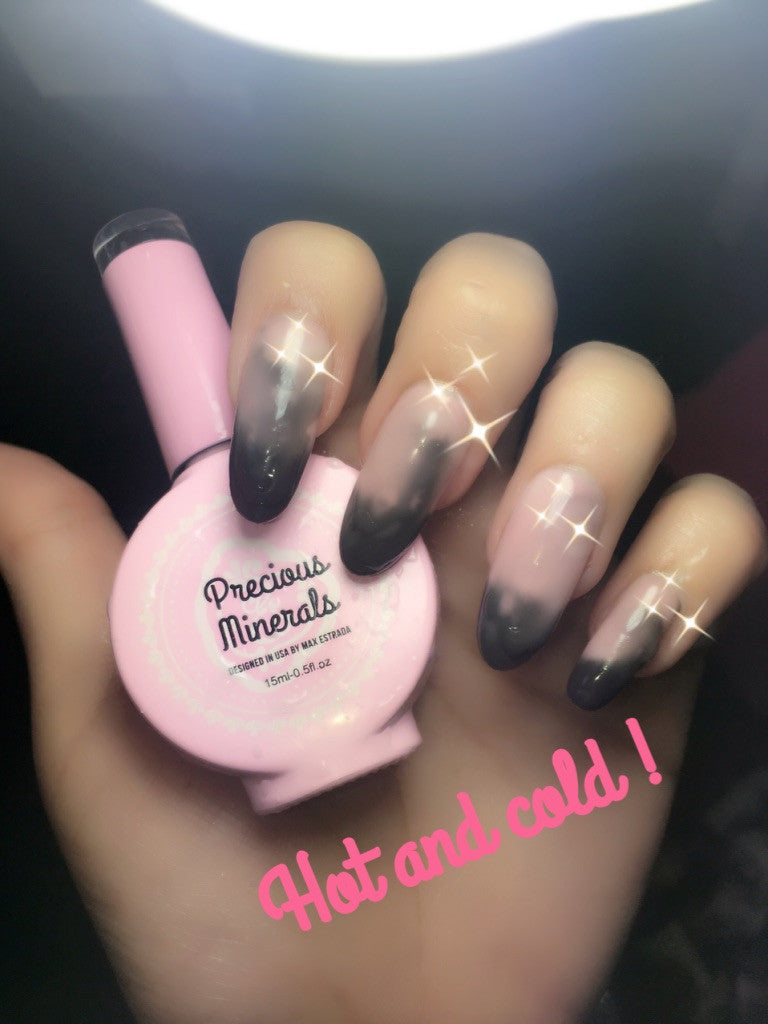 precious minerals 072, nude to black color changing – enailcouture