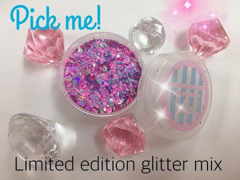 Pick me, pure glitter mix! (limited edition)