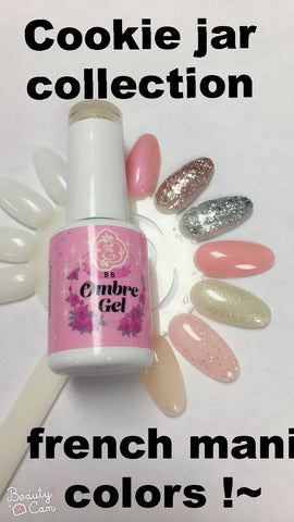 Cookie-Jar - French BB Ombre Gel Polish !~