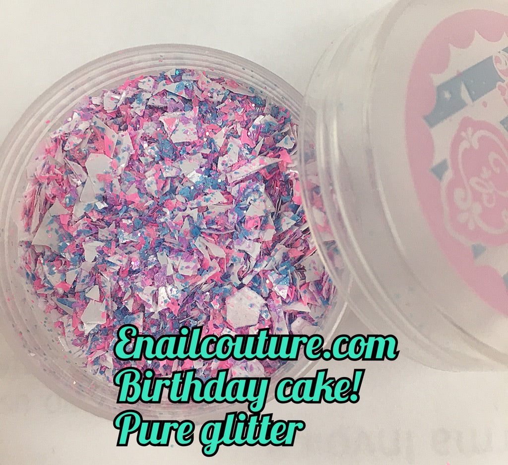 Birthday Cake - Pure Glitter Mix!