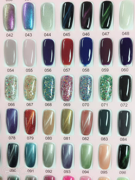 precious minerals gel polish (color #001-100)