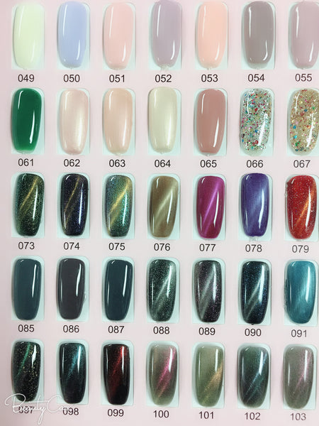 Precious minerals gel polish ( color #101-200)