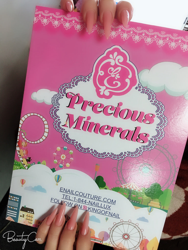 The Precious Minerals - Color Chart Story Book