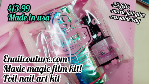 Maxie magic film (foil kit, old formula )