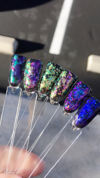 fairy flakes ! opal chrome