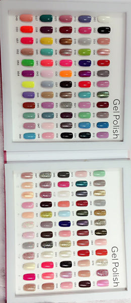 The Gel Polish - Color Chart Story Book