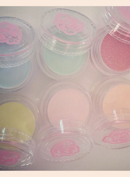 Ice Cream Cake Colored Powders