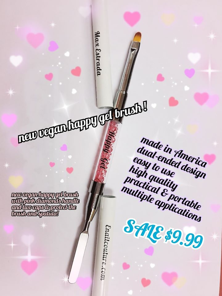 Vegan HAPPY Gel brush !