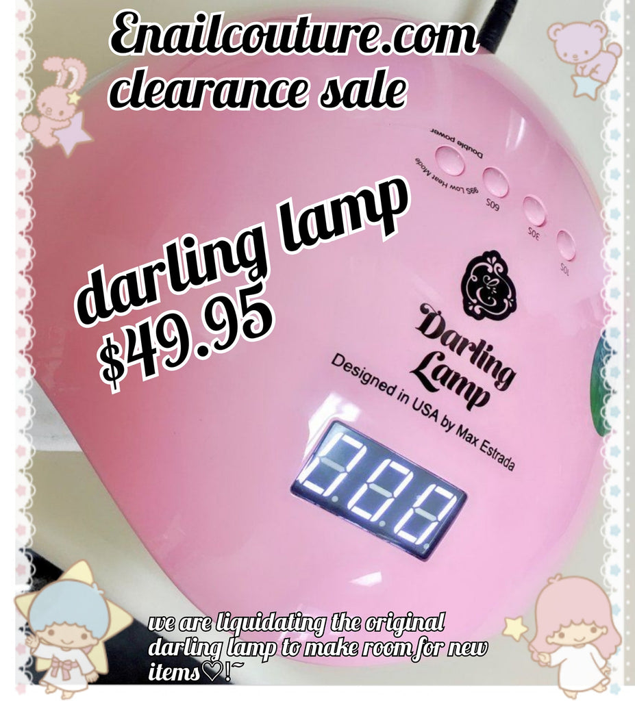 darling lamp, clearance sale !(48W UV LED Nail Dryer with 4 Timer Setting, Professional UV LED Light for Gel Nail Polish, Automatic Sensor and Over-Temperature Protection )