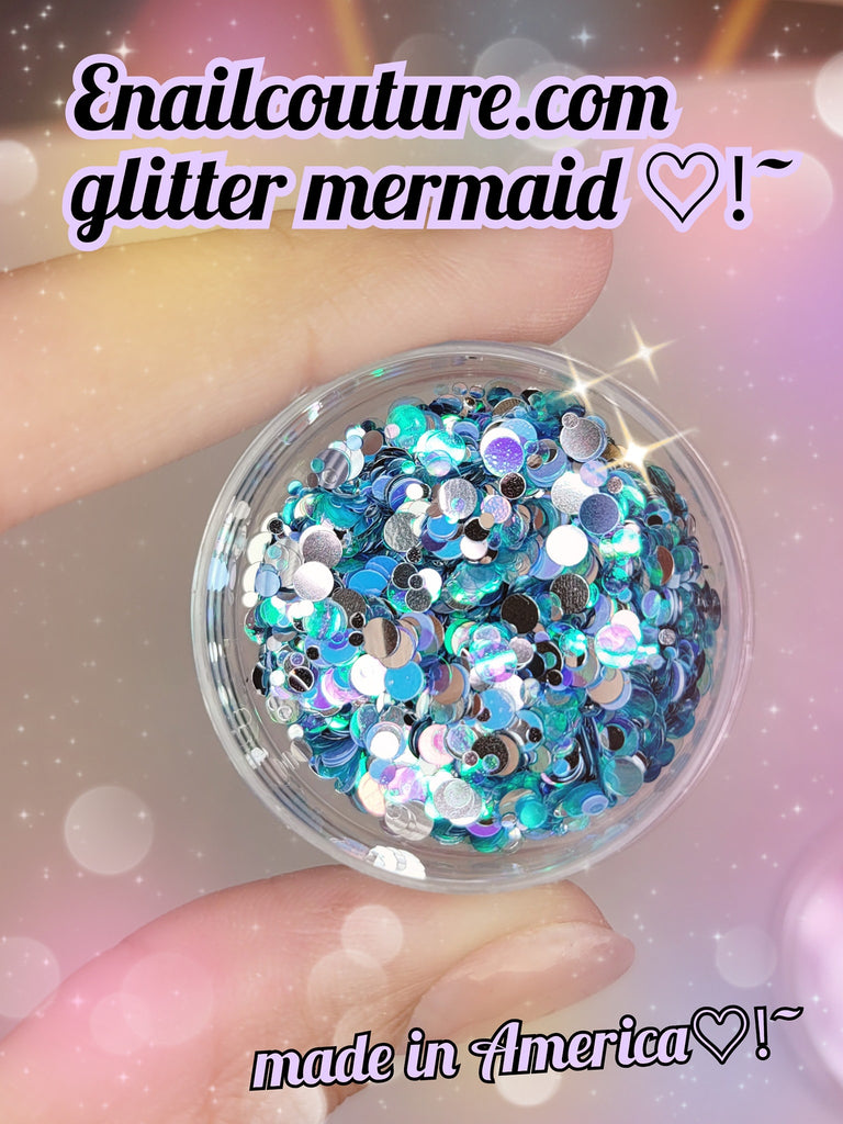 Glitter Mermaid- Pure Glitter Mix! (magical mermaid mix)