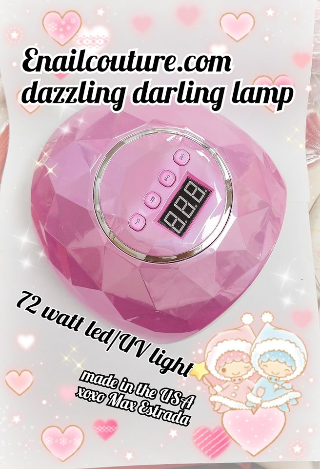 DAZZLING Darling Lamp~! led/uv lamp (72W UV LED Nail Dryer with 4 Timer Setting, Professional UV LED Light for Gel Nail Polish, Automatic Sensor and Over-Temperature Protection )