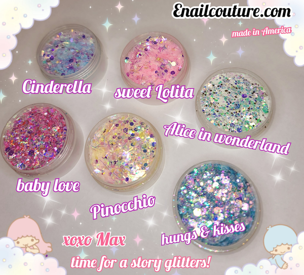 time for a story Glitter Mix series ! (Holographic Cosmetic Festival Chunky Glitters Sequins, Nail Sequins Iridescent Flakes, Cosmetic Paillette Ultra-thin Tips, for Body Face Hair Make Up Nail Art Mixed Color Glitter)