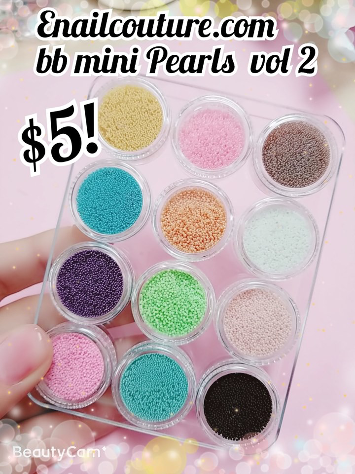 BB Mini Pearls Charms vol, 2!~ (nail art bullion)
