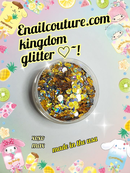 Kingdom , Pure Glitter Mix!