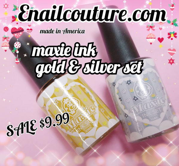 Gold & Silver Maxie INK Set (limited edition)