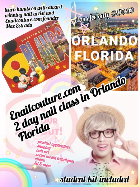 Orlando Florida 2 day nail art festival class !~ 2021 January 2 & 3