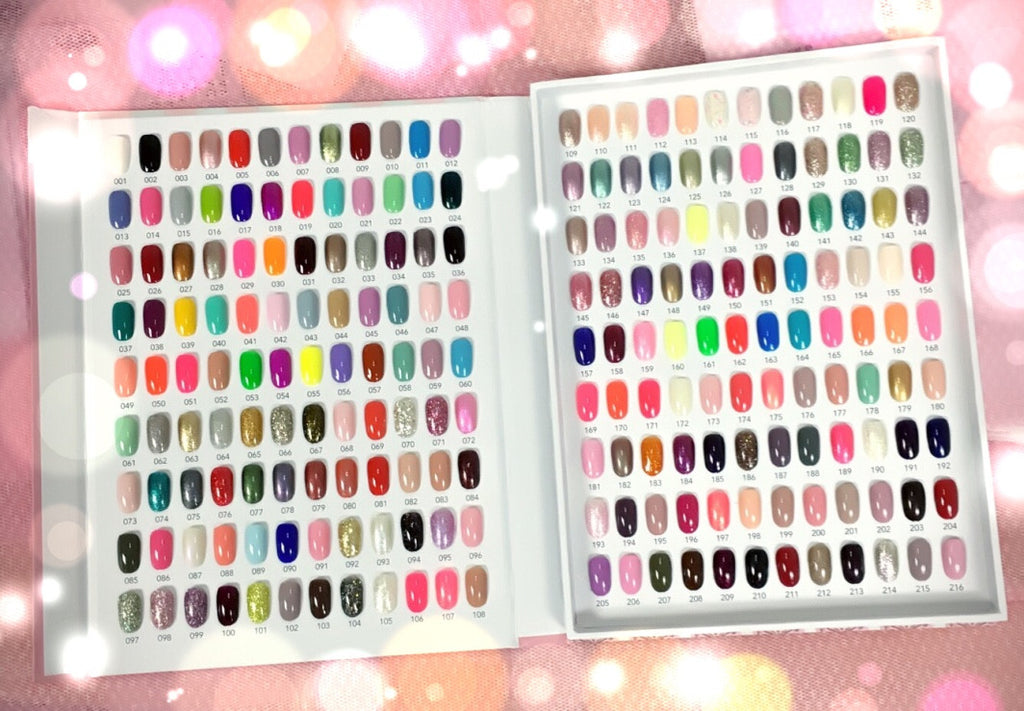 The Color Chart Story Book Enailcouture