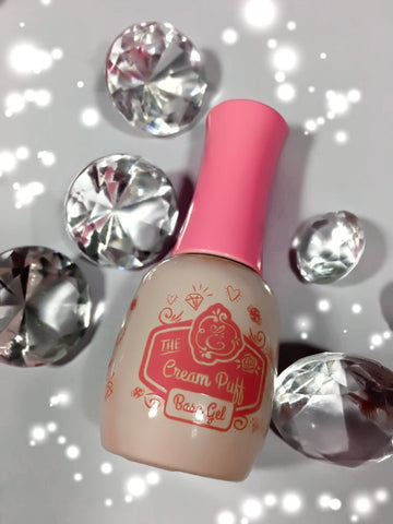 Cream Puff, pink base coat ~!